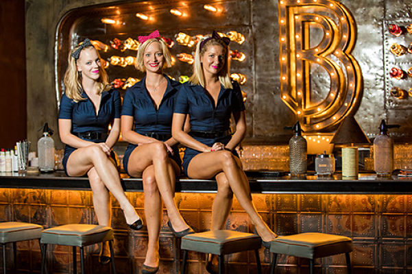 Alle(s) blond im Blondies?   © Blondies Bar