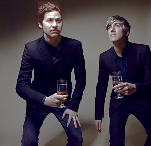 "Keith Murray und Chris Cain sind ""We are scientists"""