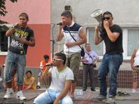 Rappen gegen den Mob