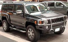 Stadt verschenkt Hummer-Jeeps und Luftkissenfahrzeug