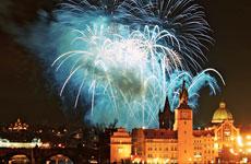 Jahresausklang in Prag