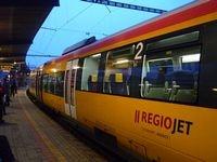 Tschechische Bahngesellschaft RegioJet expandiert in der Slowakei