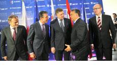 Ukraine-Krise entzweit Visegrád-Staaten