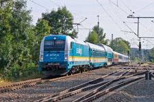 Mit der Metropolenbahn nach Prag