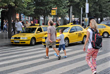 Strengere Kontrollen für Taxis