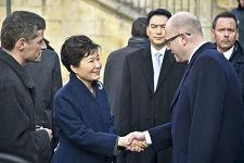 Südkoreanische Präsidentin beim V4-Treffen