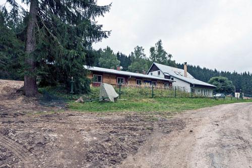 """Das ehemalige """"Zigeunerlager"""" in Hodonín wurde nach dem Krieg als Ferienanlage genutzt."""