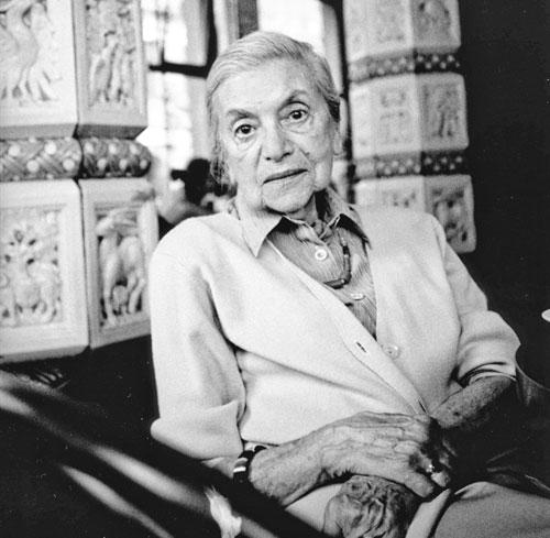Lenka Reinerová glaubte an die Macht der Worte.