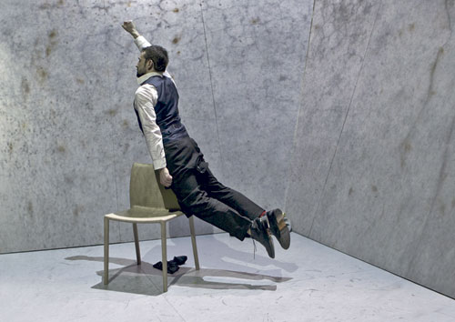"""Das Festival """"Tanec Praha"""" fördert experimentelle Bewegungskunst."""