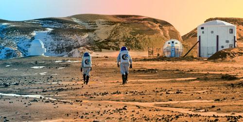 Der lange Weg zum Mars