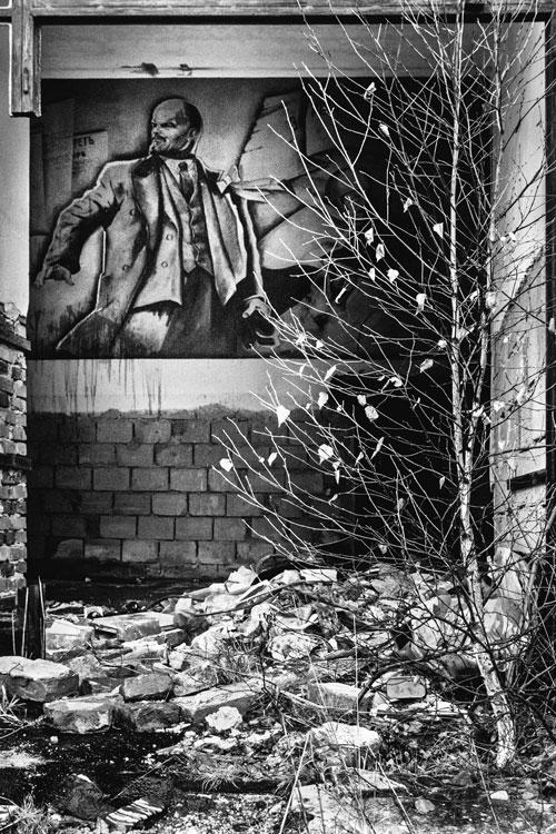 Ehemaliges Kulturhaus in der sowjetischen Kaserne in Ralsko
