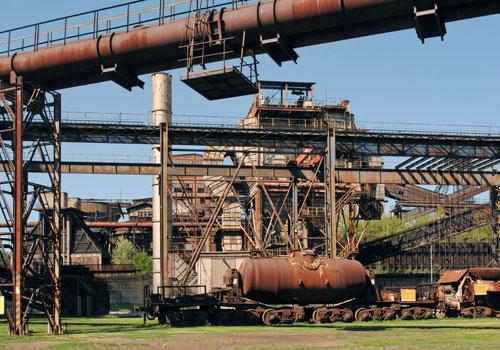 Stahlwerk, Strand und Science Fiction