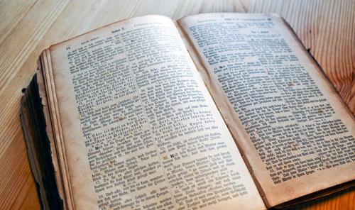 Bibel sucht Besitzer