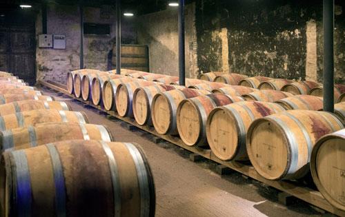 Schwere Zeiten für Fassweinhändler