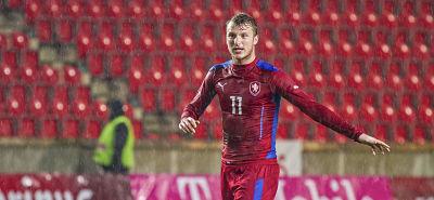 Einstand nach Maß: Michael Krmenčík traf beim Länderspieldebüt.