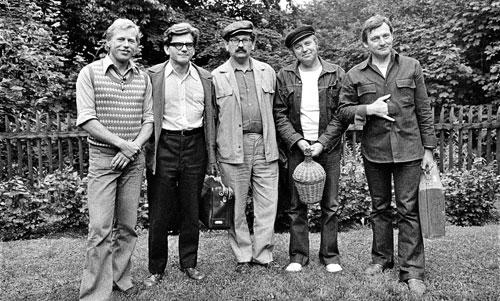 Im Jahr 1975 lud Havel zum Schriftstellertreffen in sein Landhaus in Hrádeček.