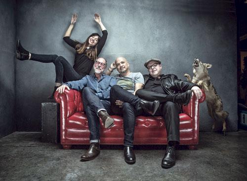 Die Pixies haben nach 24 Jahren Pause wieder ein Album aufgenommen.