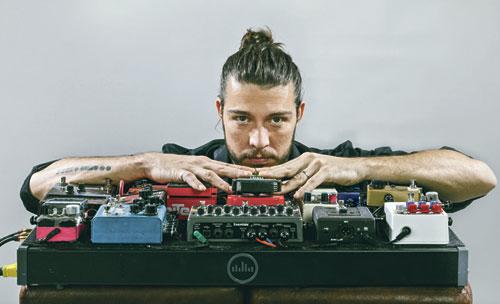 Guillaume Perret verbindet zeitgenössischen Jazz mit Funk und Elektronik.