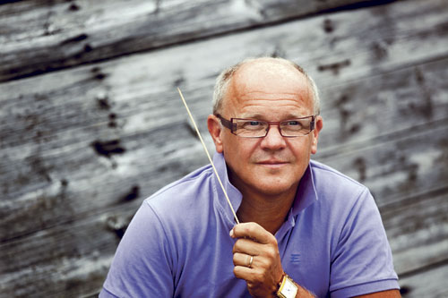 Christian Lindberg ist mit dem Taktstock genauso virtuos wie mit der Posaune.
