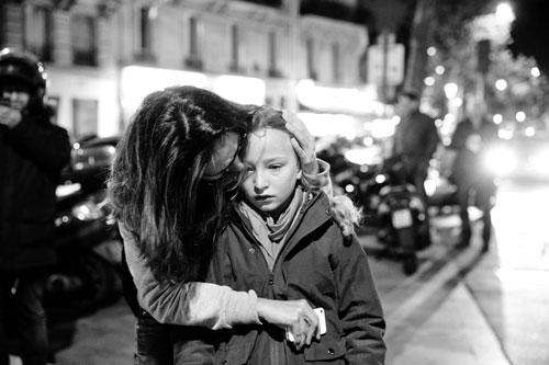 Jan Zátorský fotografierte nach den Anschlägen am 13.11.2015 in Paris.