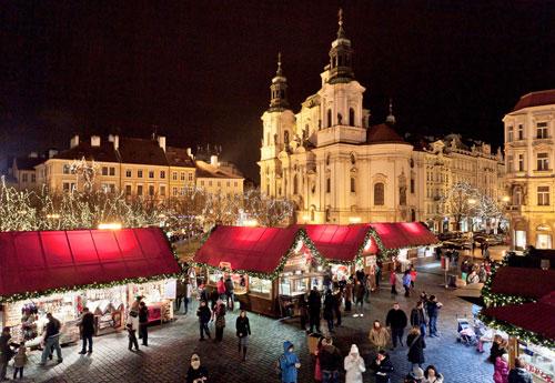 Alle Jahre wieder: Weihnachtsmarkt auf dem Altstädter Ring