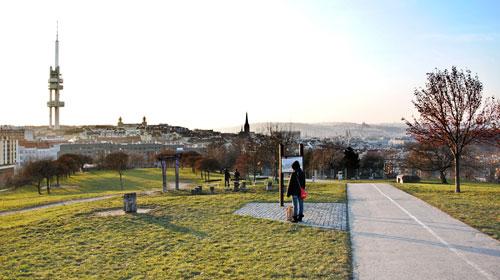 Ob morgens, in der Mittagspause oder auf dem Heimweg: Ein Spaziergang auf den Parukářka-Hügel machte den Kopf immer frei für neue Gedanken.