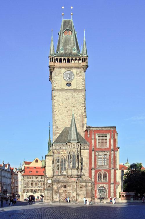 König Johann von Luxemburg gestattete den Bau des Altstädter Rathauses.