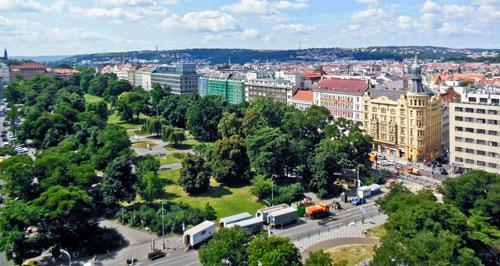 Der Karlsplatz war einst der größte städtische Platz in Europa.