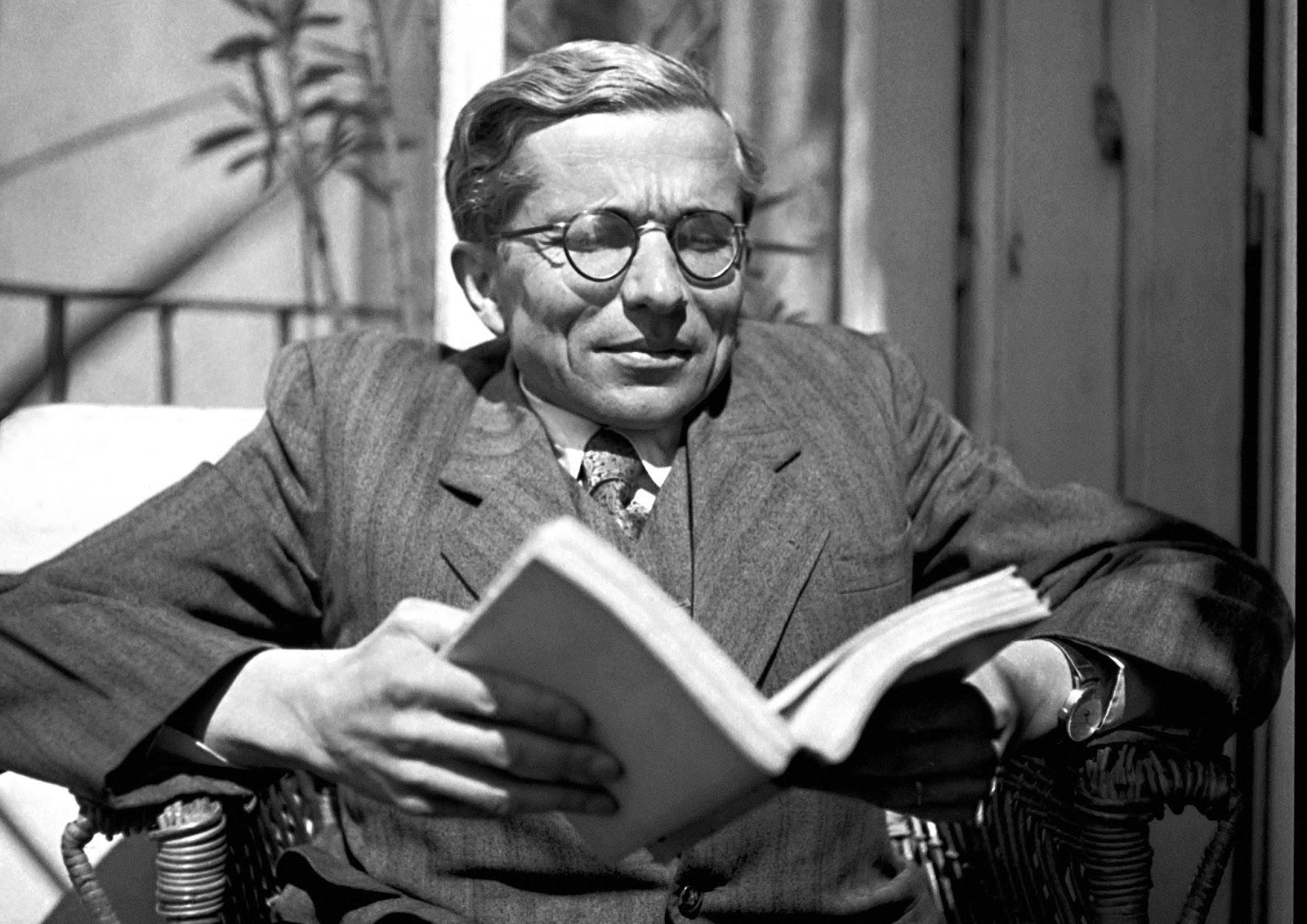 Jan Zahradníček 1947 in Brünn. Als Repräsentant des Katholizismus war der Dichter staatlichen Repressionen ausgesetzt. / © APZ