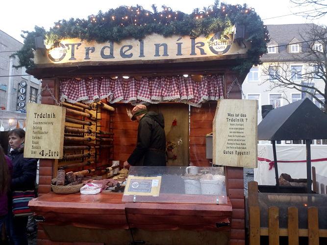 Trdelník-Stand in Schweinfurt © khan