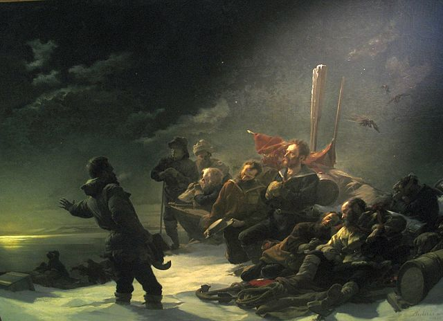Gefangene im Eis