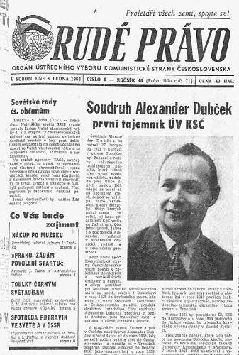 Vor 50 Jahren begann der Prager Frühling