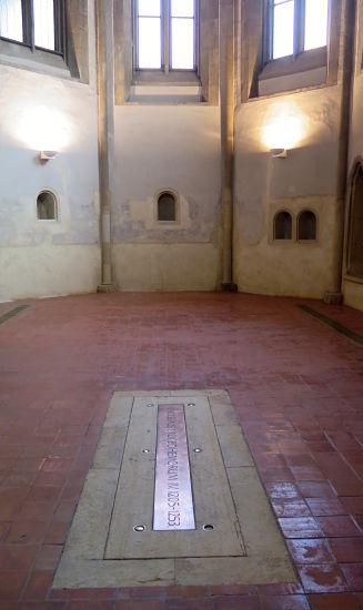 Grab von Wenzel I. im Agneskloster