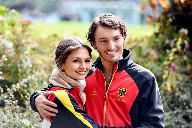 Seit 2015 sind Joti Polizoakis und Kavita Lorenz ein Paar auf dem Eis.
