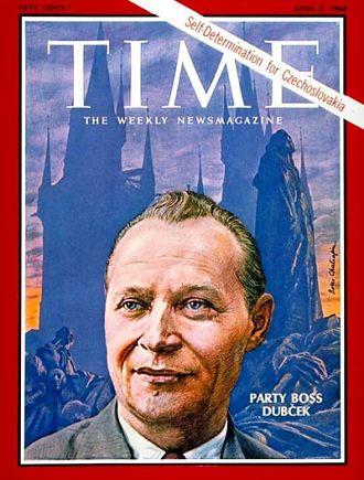 Titelseite des >Time Magazine< vom 5. April 1968 © Boris Chaliapin