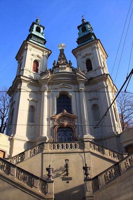 Kirche des Heiligen Nepomuk auf dem Felsen