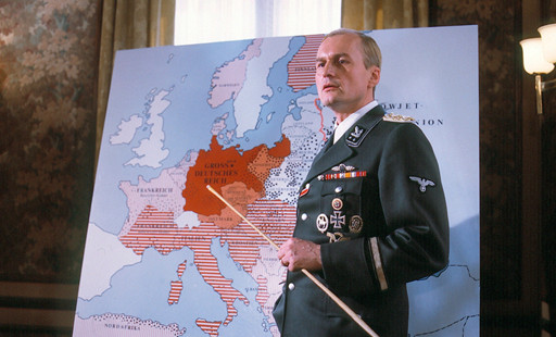 """In die """"Die Wannseekonferenz"""" (1984) verkörperte Mattausch SS-Obergruppenführer Reinhard Heydrich. © BR"""
