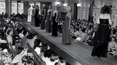 Úbok-Modenschau in Prag in der achtziger Jahren © APZ
