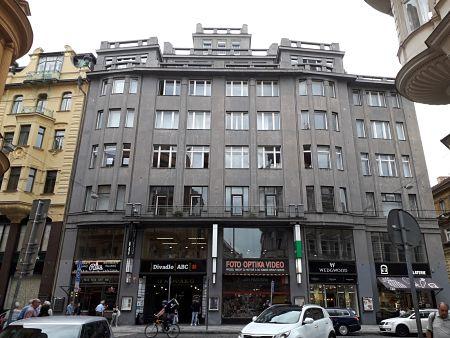 Suttners Geburtshaus in der Straße Vodičkova