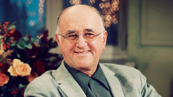 Alfred Biolek moderierte von 1991 bis 2003 die ARD-Talkshow >Boulevard Bio< © WDR Fernsehen, Hajo Hohl