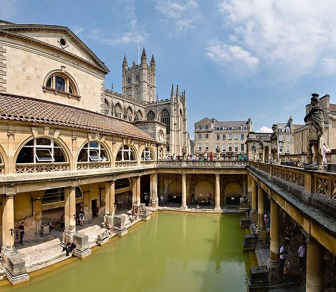 bath_Roman_Baths_in_Bath_DAVID-ILIFFCC-BY-SA30