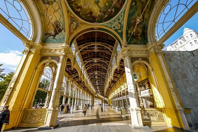 Architecture Mariánské Lázně Lobby