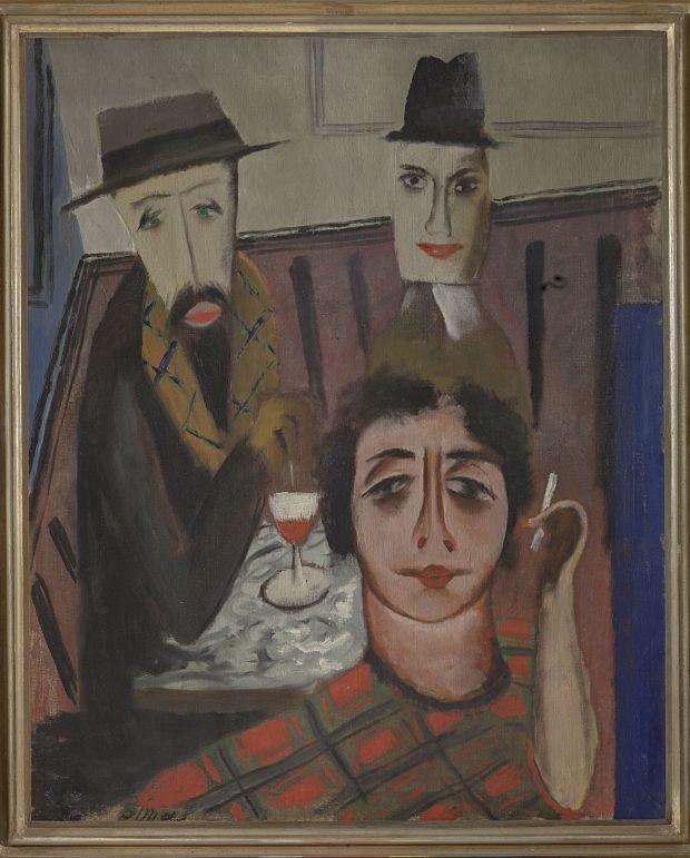 Josef Šíma, Café Parnasse, 1923, Národní galerie Praha_opt