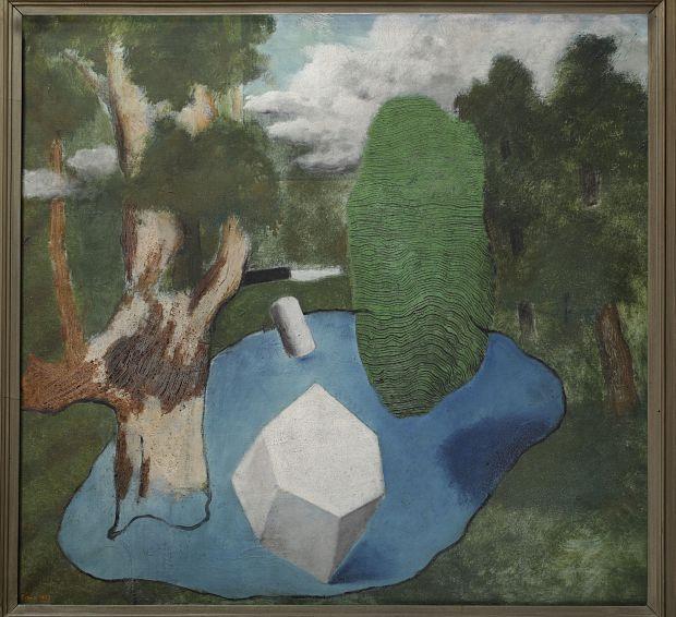 Josef Šíma, Mlno, 1927, Galerie Zdeněk Sklenář_opt
