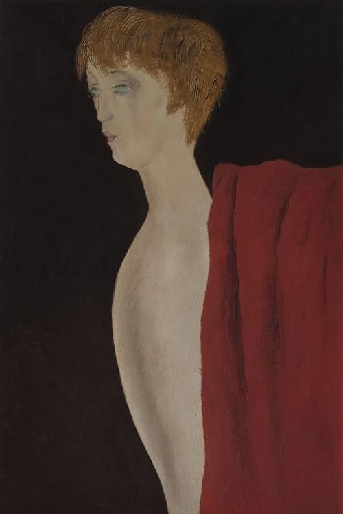 Josef Šíma, Podobizna Bérenice Abbottové, 1928, Národní galerie Praha_opt