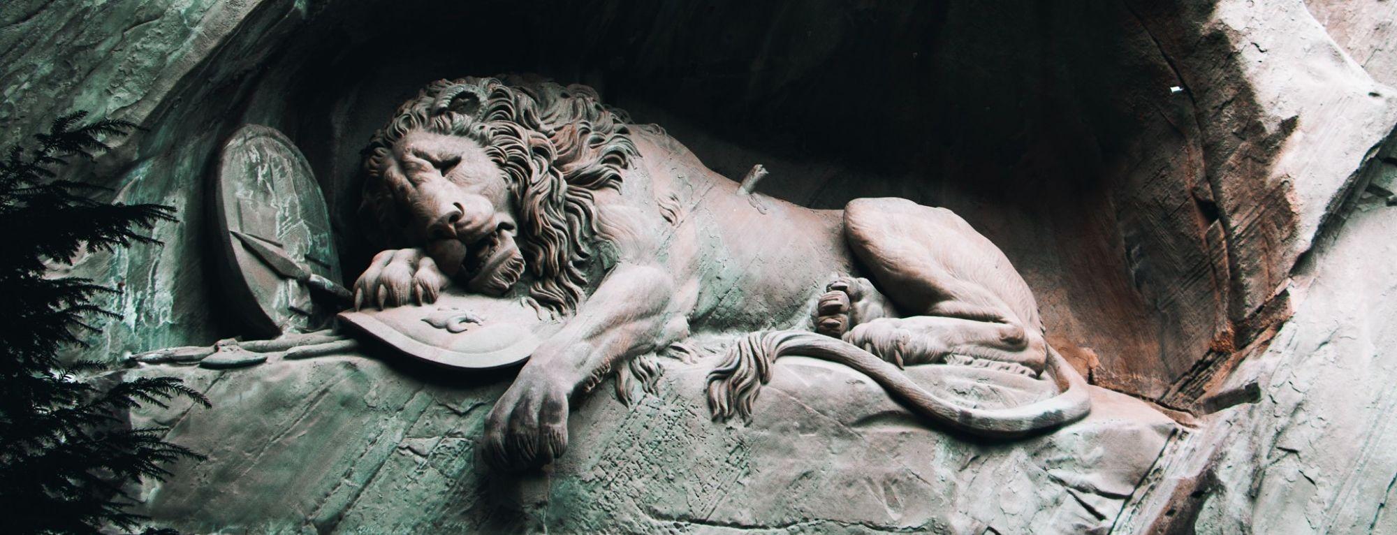 Der Tod des Löwen