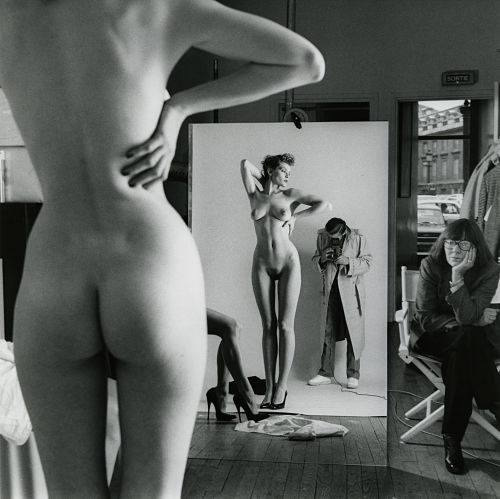 Self Portrait with Wife and Models, Paris 1981_opt