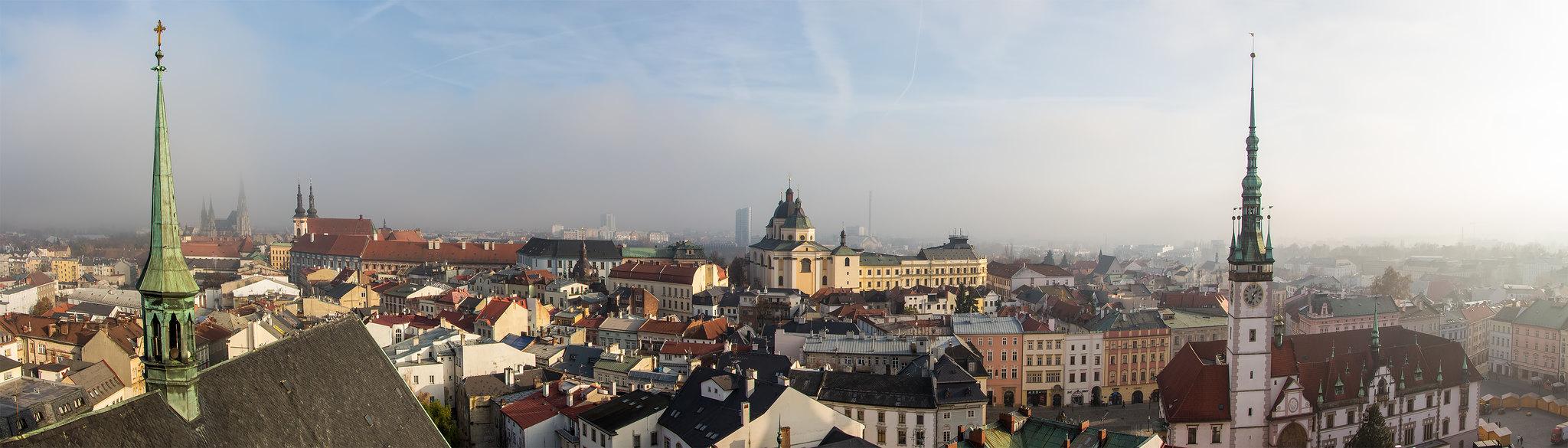 City of Olomouc in November