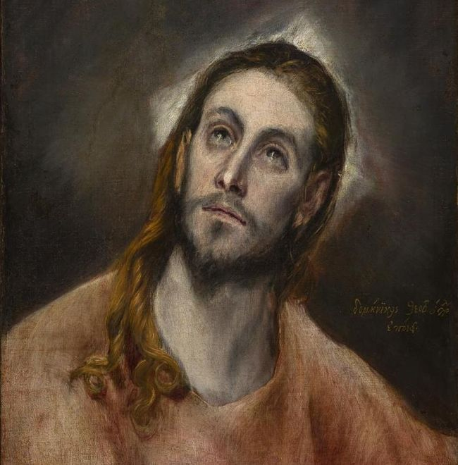 Doménikos Theotokópulos, Modlící se Kristus, 1585 − 1597_opt