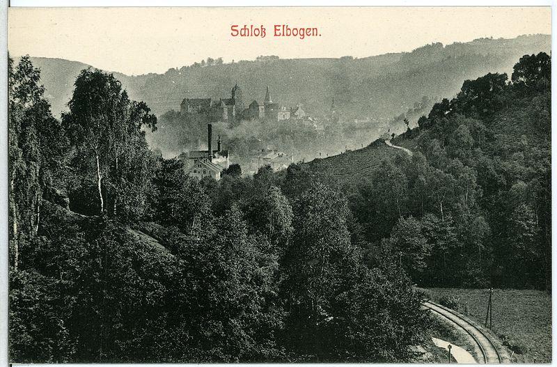 11068-Elbogen-1910-Schloß-Brück_&_Sohn_Kunstverlag